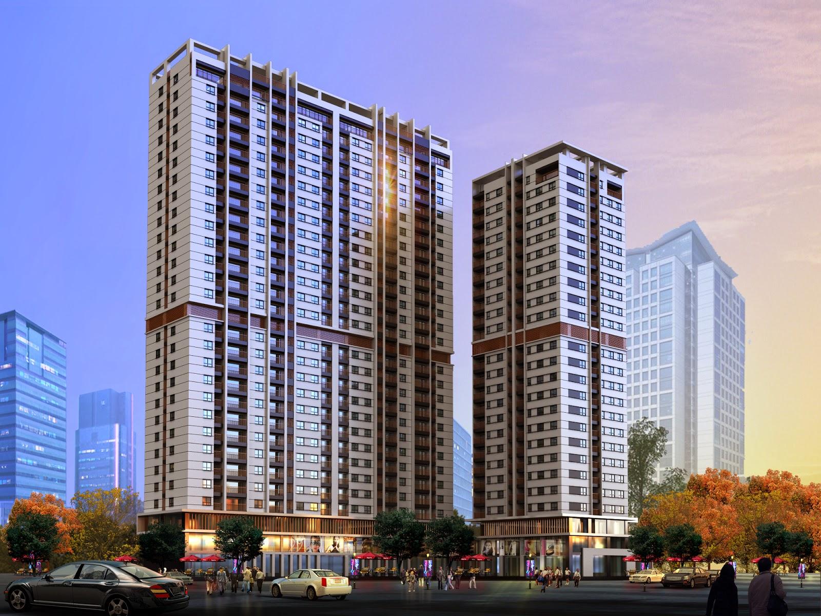 Chung cư HongKong Tower 243a Đê La Thành, Đống Đa, Hà Nội