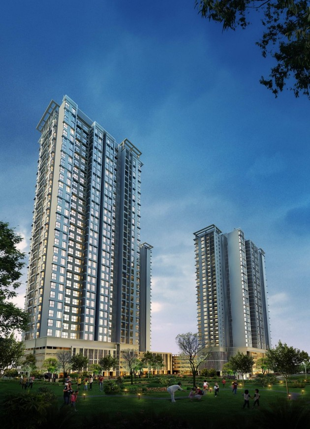 chung cư the one residence Hoàng mai, khu đô thị Gamuda Gardens, Chung cư The One Residence Gamuda Gardens