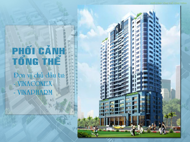 PVV Tower 60b nguyễn huy tưởng, chủ đầu tư Vinaconex và Vinapharm, Chung cư PVV Tower 60B Nguyễn Huy Tưởng, chung cư 60b nguyễn huy tưởng