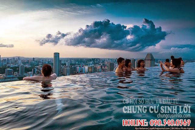 Bể bơi - Chung cư 219 Trung Kính quận Cầu Giấy
