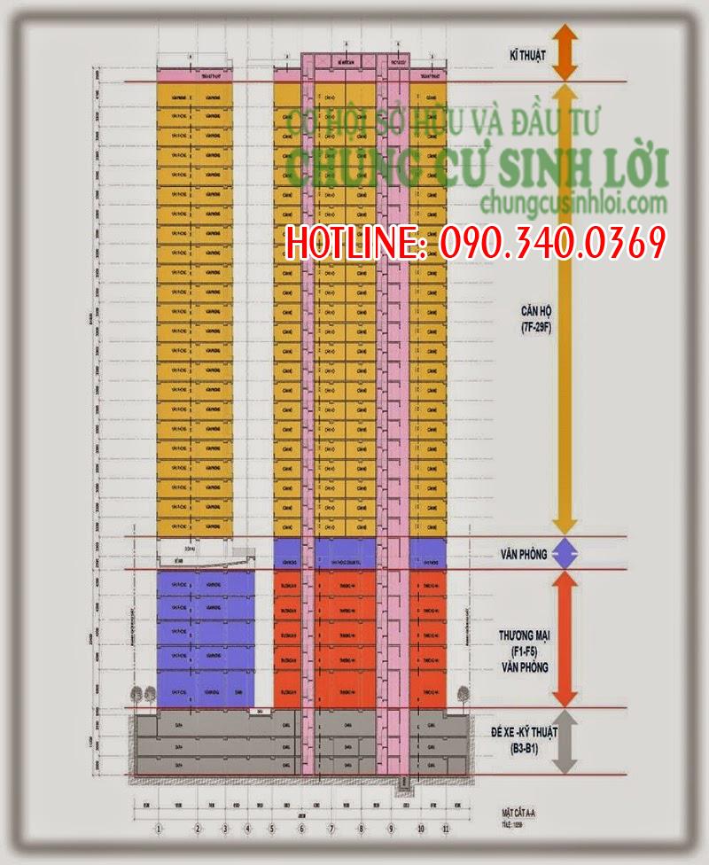 Thiết kế - Chung cư 219 Trung Kính quận Cầu Giấy