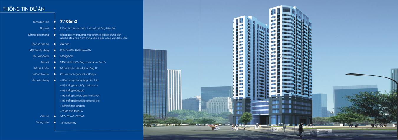 Tổng quan dự án chung cư 219 Trung Kính quận Cầu Giấy - MBLand Central Point