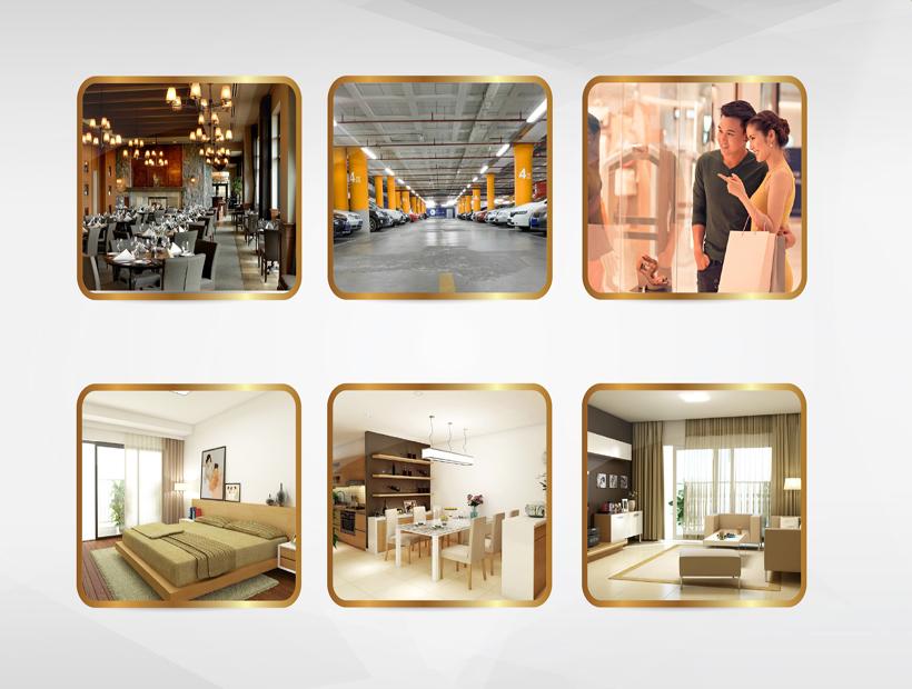 Tiện ích dự án chung cư Golden Palace C3 Tower Lê Văn Lương