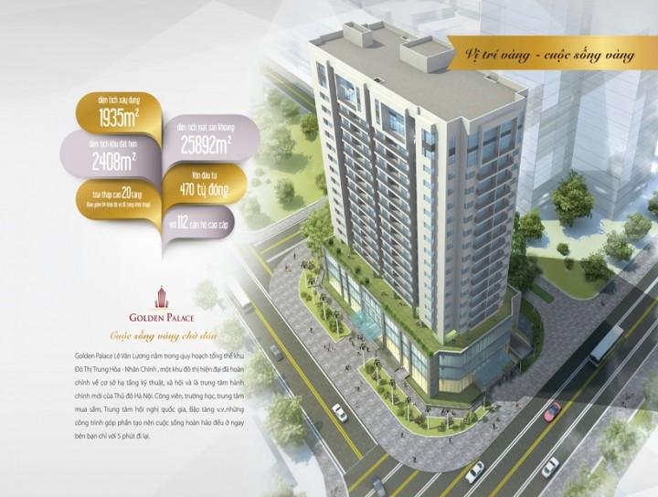 Tổng quan dự án chung cư Golden Palace C3 Tower Lê Văn Lương
