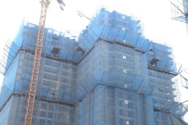 Tiến độ xây dựng tòa Ruby 2 chung cư Goldmark City ngày 6/10/2015