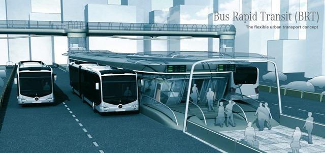 Chung cư AnLand Nam Cường nằm ngay cạnh nhà ga tuyến xe bus nhanh BRT