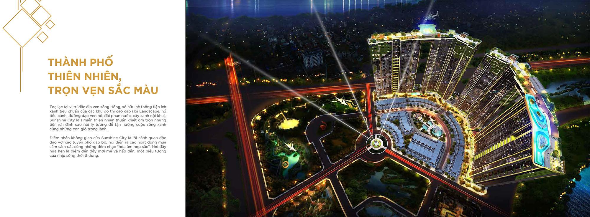 Chung cư Sunshine City Hồ Tây