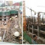 Dự án MBLand Central Point 219 Trung Kính đẩy nhanh tiến độ xây dựng tháng 4