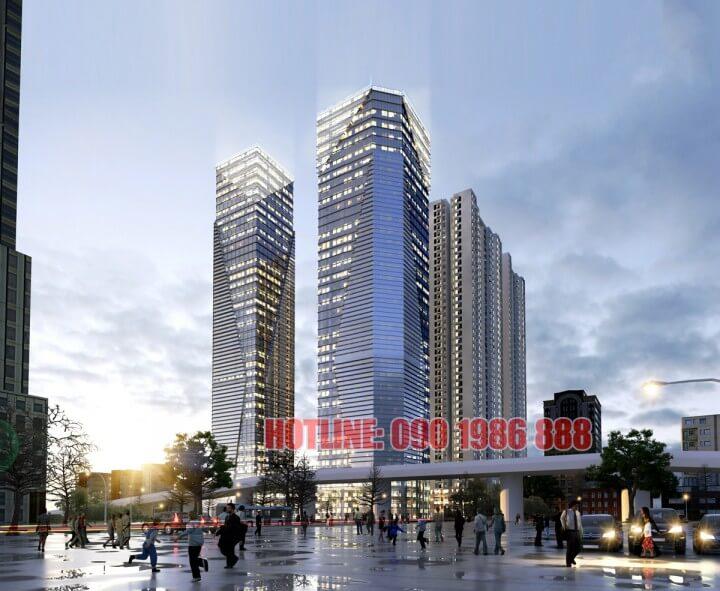 Phối cảnh dự án chung cư Vinhomes Metropolis Liễu Giai